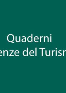 """Collana """"Quaderni Scienze del Turismo"""""""