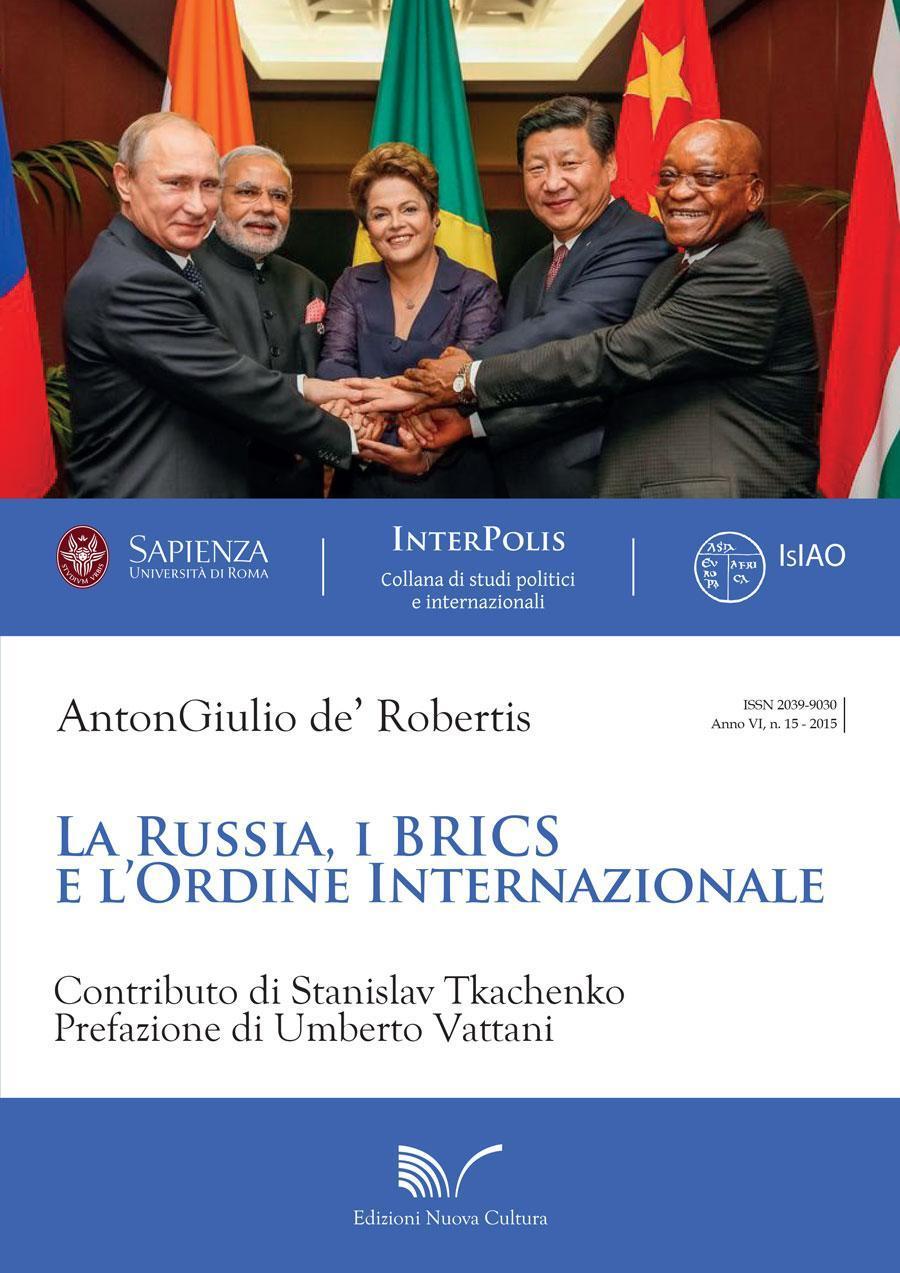 """Presentazione del libro """"La Russia, i BRICS e l'ordine internazionale"""" al Circolo del Ministero degli Affari Esteri"""
