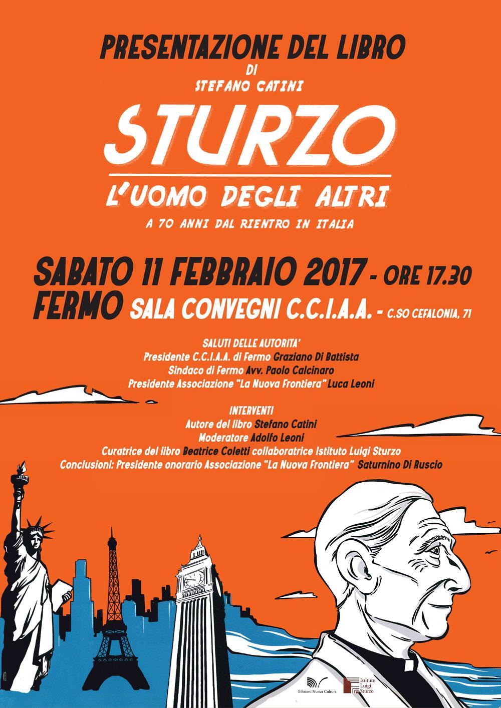 """Presentazione del libro """"Sturzo. L'uomo degli altri"""" di Stefano Catini"""