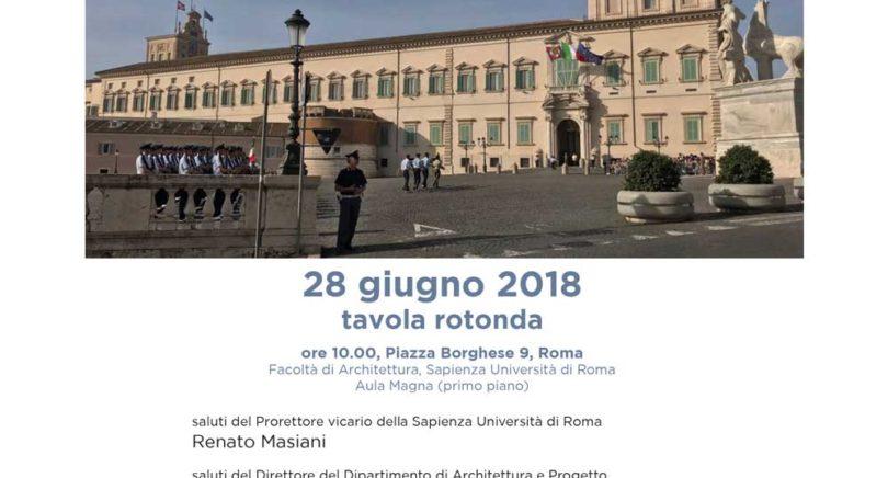 Roma ancora Capitale d'Italia?